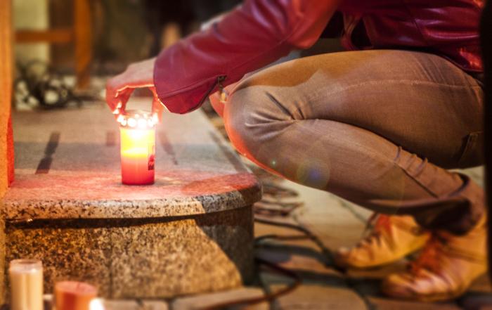 Vzpomínka na 17. listopad v Libčicích